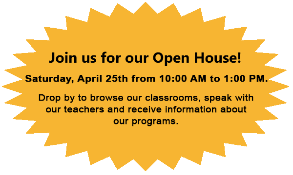 Join us our open house